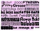 Thumbnail AMAZING 130+ GROOVY FONTS PACK - DOWNLOAD RIGHT NOW !