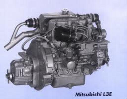 MITSUBISHI ENGINE L2A L2C L2E L3A L3C L3E L SERIES SERVICE / REPAIR ...