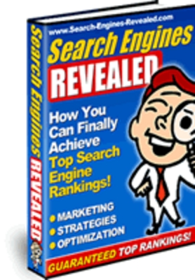Product picture *NEW!* Search Engines Revealed - How You Can Finally Achieve Top Search Engine Rankings - With Private Label Rights (PLR)
