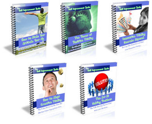 Product picture *NEW!* PLR , MRR , Self Improvement Buff Series plus 46 bonus Ebooks !!