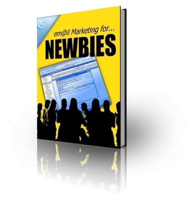 Product picture *NEW!* Email Marketing For Newbies - With Private Label Rights (PLR) & Master Resell Rights (MRR)