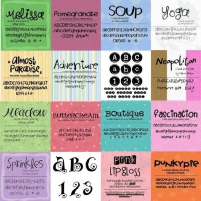 Product picture EXCLUSIVE 200+ Scrap Fonts Various Designers - DOWNLOAD NOW
