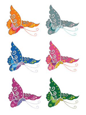 Product picture EXCLUSIVE 150+ HQ BUTTERFLY TATTOO DESIGNS - DOWNLOAD NOW !