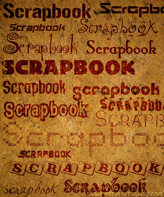 Product picture 500+ GORGEOUS SCRAPBOOK FONTS - DOWNLOAD RIGHT NOW !!