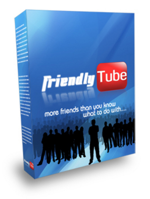 Product picture *NEW!* Friendly Tube(Youtube Friends/Comments Adder) Software with Private Label Rights(PLR)!!