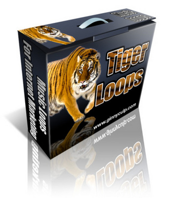 Product picture TIGER LOOPS(20 MP3,AIF Loops) with Resell Rights!