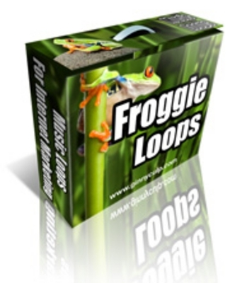 Product picture Froggy Loops(MP3, AIF Loops)  Music Royalty FREE with PLR!