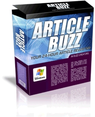 Product picture Article Buzz Rewriter & Unique Content Creator Software(MRR)