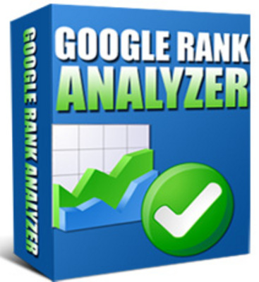 Product picture *NEW!* Google Rank Analyzer Software - MASTER RESALE RIGHTS!