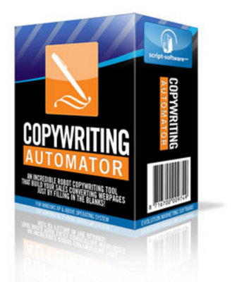 Product picture *NEW*! Copywriting Automator Software - with Resell Rights!!