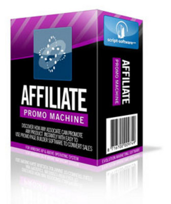 Product picture *NEW!* Affiliate Promo Machine Software-With Resale Rights*