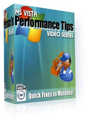 Product picture *NEW!* MS Vista Performance Tips Video Series(4 Videos)! - With Private Label Rights
