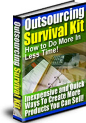 Product picture *HOT!* Outsourcing Survival Kit With Resale Rights (MRR)