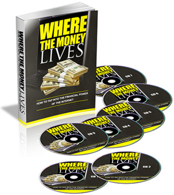 Product picture *NEW!* Where The Money Lives (Plr) + 3 PLR Bonuses & More! - with Private Label Rights - DOWNLOAD !!